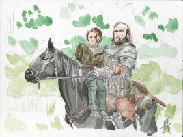 Got4 Arya The Hound Inprogress Web by Sharriss