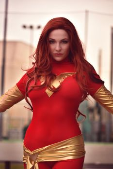 Dark Phoenix - X Men by GiuliaZelda
