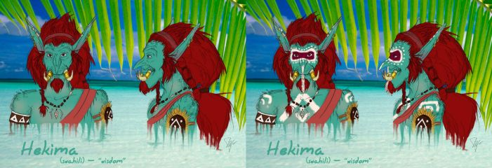 Hekima (Colour test #1) by Flive-aka-Nailan