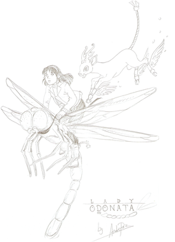 Lucy and Remui - Lady Odonata by AndrePaz