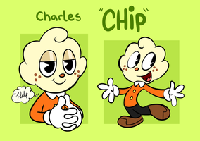 Charles Chip -Cuphead Oc- by PukoPop