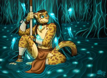 Forest of Light, Forest of Life by Otakuwolf