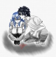 Thank you for a gift Juvia by Isayuki