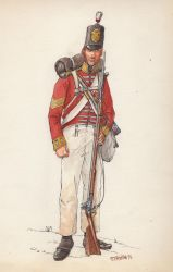 The Connaught Rangers 1812 by OrlopRat