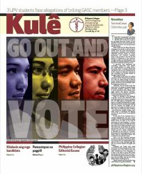 Philippine Collegian Issue 27-28 by kule1112