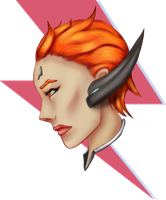 M0!ra - Overwatch new hero - MOIRA by eschata