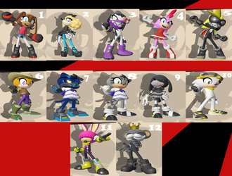 Sonic Forces creation by toongrowner