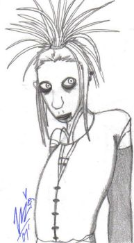 Tim Skold Sketch by Youalahuan