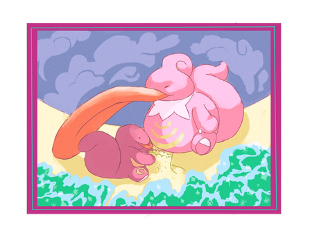 Lickitung by The-Color-Blue