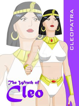 Cleopatra poster by Dangerman-1973