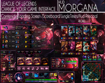 League Of Legends Hud Bewitching Morgana by JoylockDesigner