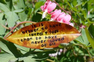 To Love And Lose by Rhiallom