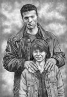 Winchesters by lupinemagic