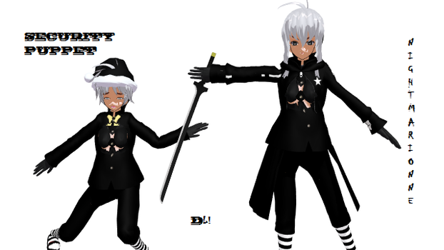 MMD Puppets Pack DL! by Ryad2006