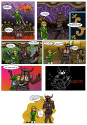 LOZ : Crush by Campanita42