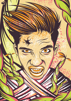 Angry-vector by AsepPhotoshoper