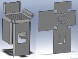 SolidWorks Chair Thing by bigblued
