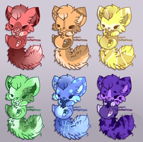 Rainbow Palette Adopts! (CLOSED) by JuniorAdopts