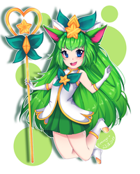 Star Guardian Lulu (Fanart) by Mimyoi
