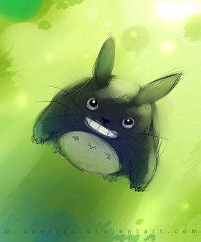 totoro by Apofiss