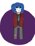 Chill Dark Pixel Sal by TheArtisticIntrovert