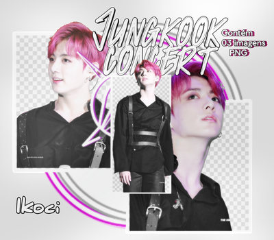Jungkook concert png by iKoci