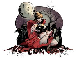 All-Con 2012 Pinup Girl by Corrose
