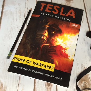 Tesla Science Magazine by wastelandPeach
