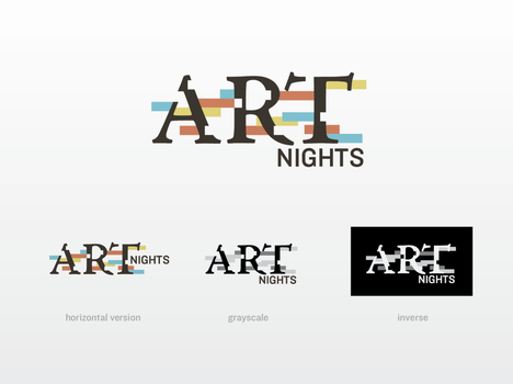 Art Nights Logo by justincurrie
