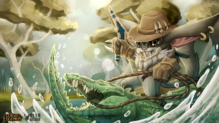 Croc Hunter Gnar by Kanoro-Studio