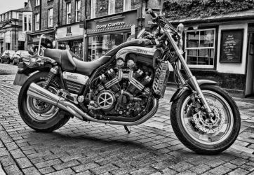 Yamaha Vmax 1200 by Partists
