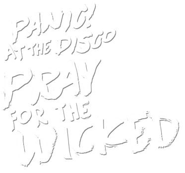 Recreation of the Pray For The Wicked logo by JeanX-Hedgehog