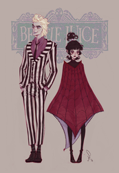 Bettlejuice by mioree-art