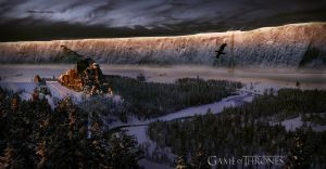 Game of Thrones - Wall by Extremestalker