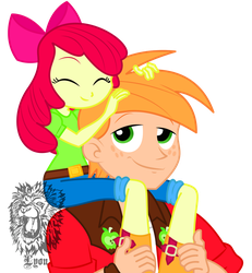 Big Mac and Apple Bloom by TheBig-ChillQueen