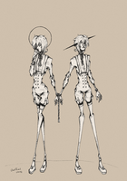 Everyday Ghost #19 - Twins by GhostPriest