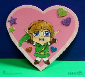A Hug from Link for Valentine's Day! (Pink) by MeMiMouse