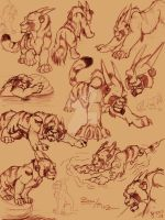 Zuni Sketches by Tigerty