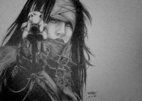 vv is for vincent valentine by angvikky