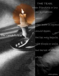 the candel's taer by WalkingDream