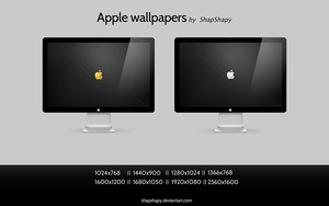 Apple wallpapers by shapshapy