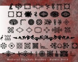 Medieval Dingbats by Hermit-stock
