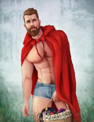 Not So Little Red Riding Hood by schmoo15