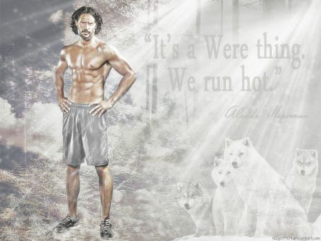 True Blood - Alcide Herveaux - We run hot by riogirl9909