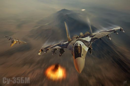 Su-35BM by Distantstarr