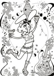 Honey Bunny Before Color July 2018 by MicheleWitchipoo