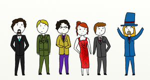 Classy Avengers by Cmurray44