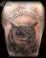 Owl 2 by state-of-art-tattoo