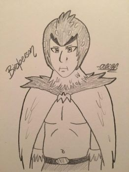 Birdperson (Rick and Morty) by Alivoir