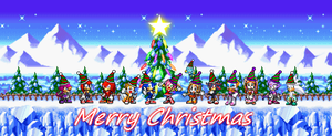 Christmas 2007-2014 by SonicDBZFan4125